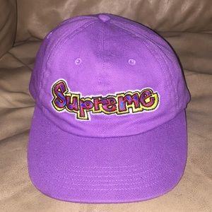 Supreme Purple Snapback
